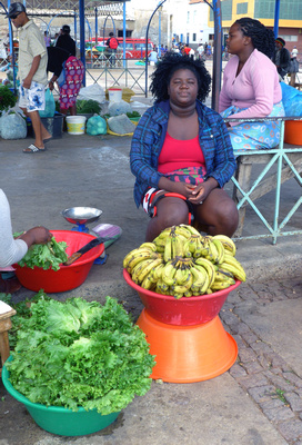 There are lots of fruit/veggie street vendors