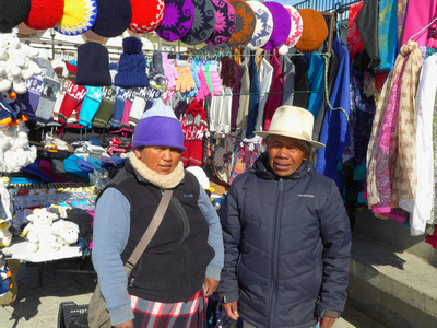 Local Chilean vendors