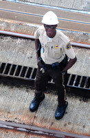 Panama Canal security officer