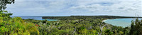 View of island of Lifou in New Caledonia