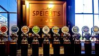 Speight's Brewery tasting room...mmmm!