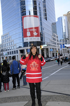 Perveen in downtown Vancouver
